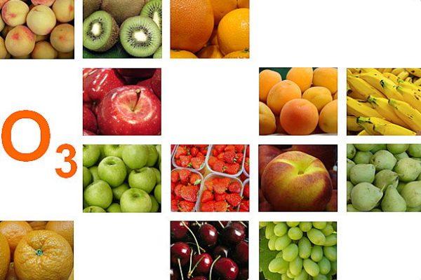 Φρούτα με Οζον